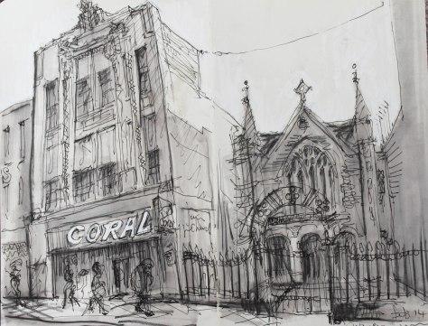 Jon Williams Art Deco betting shop